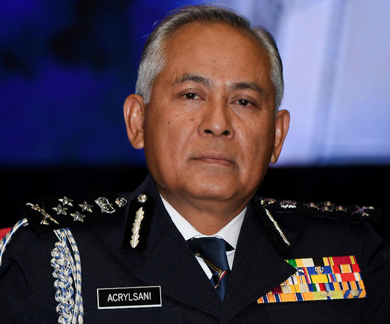 Deputy Inspector-General of Police Datuk Seri Acryl Sani Abdullah Sani said police do not take lightly information regarding the possible mass entry of elements from a neighbouring country to create trouble during the state election. — Bernama pic