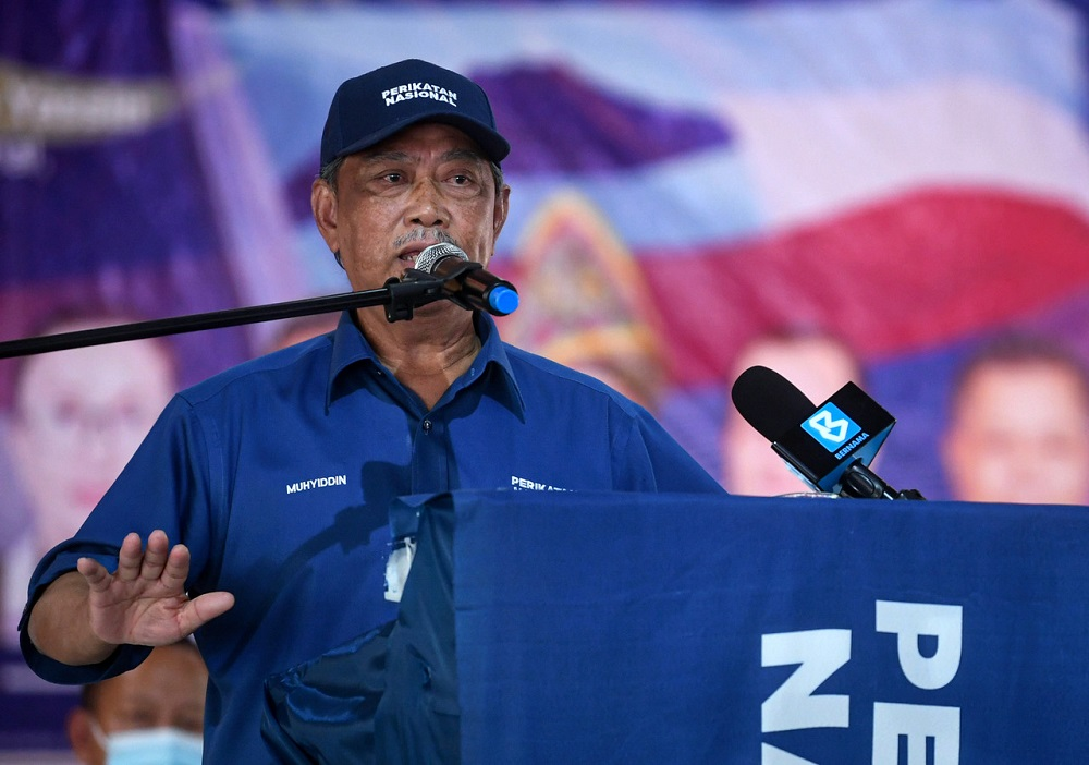 A defeat for Prime Minister Tan Sri Muhyiddin Yassin's allies in Sabah state on Borneo will erode support among his seven-month-old government's coalition partners, increasing pressure for snap national polls, observers warn. — Bernama pic