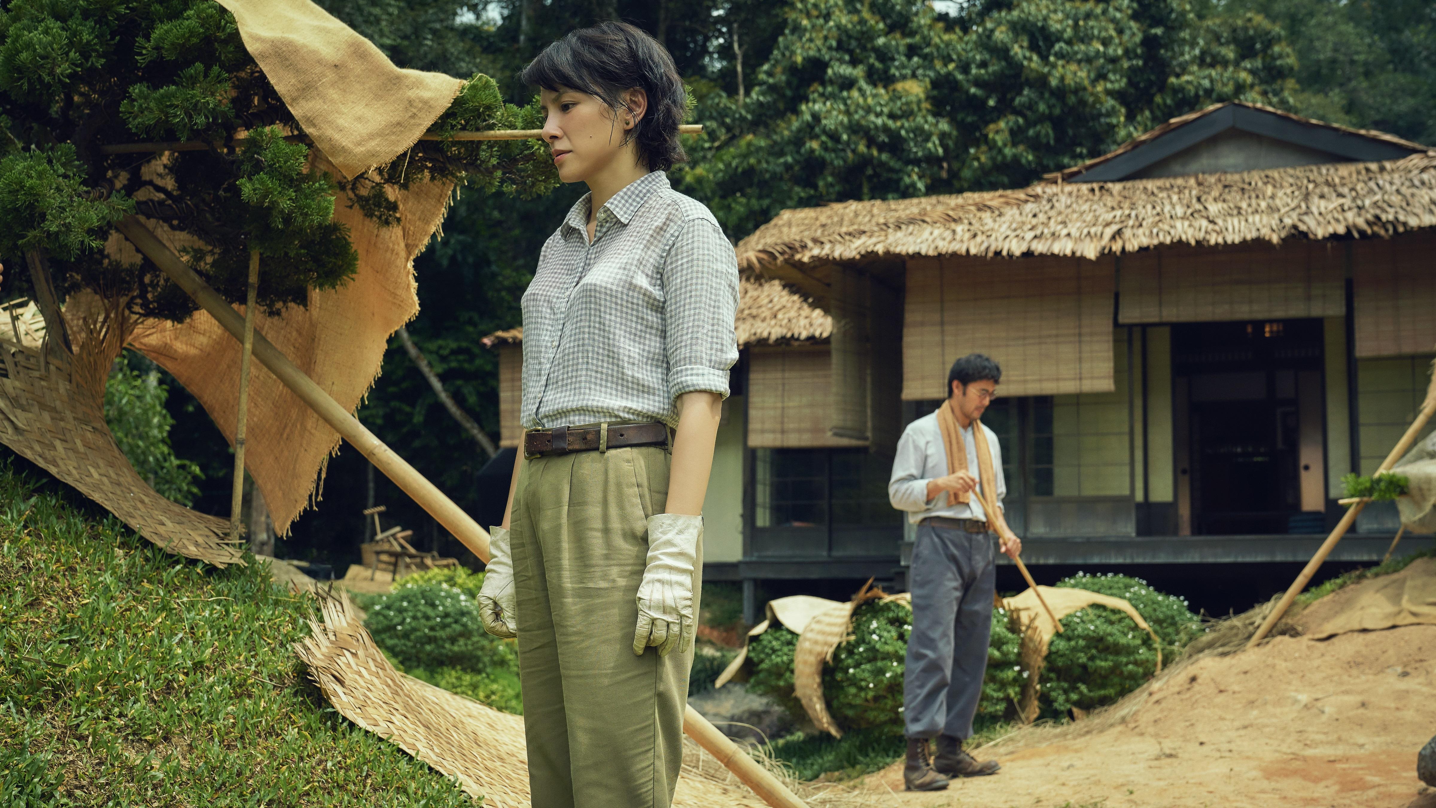 《夕雾花园》是一部改编自同名小说的电影。-HBO Asia提供-
