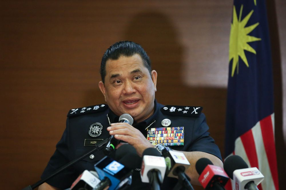 Bukit Aman Criminal Investigations Department director Datuk Huzir Mohamed said investigations are currently underway and it will be carried out professionally without any political pressure or interference from any parties. — Picture by Yusof Mat Isa
