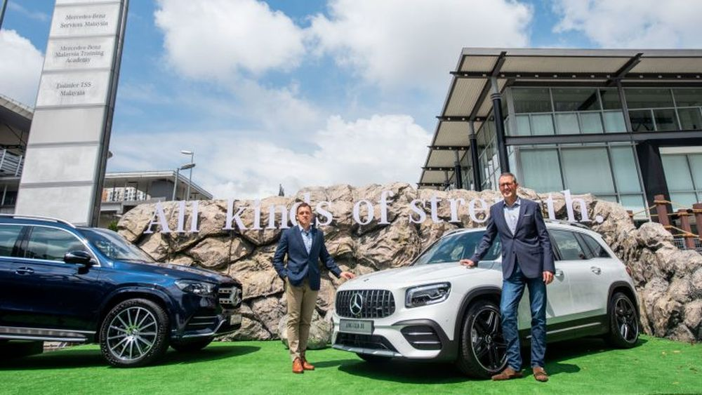 Mercedes-Benz has debuted in Malaysia the all-new GLB, a new seven-seater SUV. — Pix by soyacincau