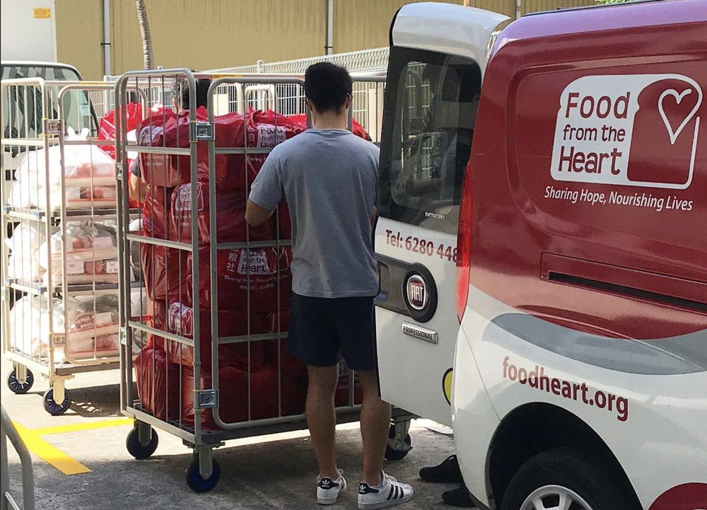 Food from the Heart is now delivering 9,000 food packs a month to households-in-need. — Food from the Heart/Facebook/TODAY pic