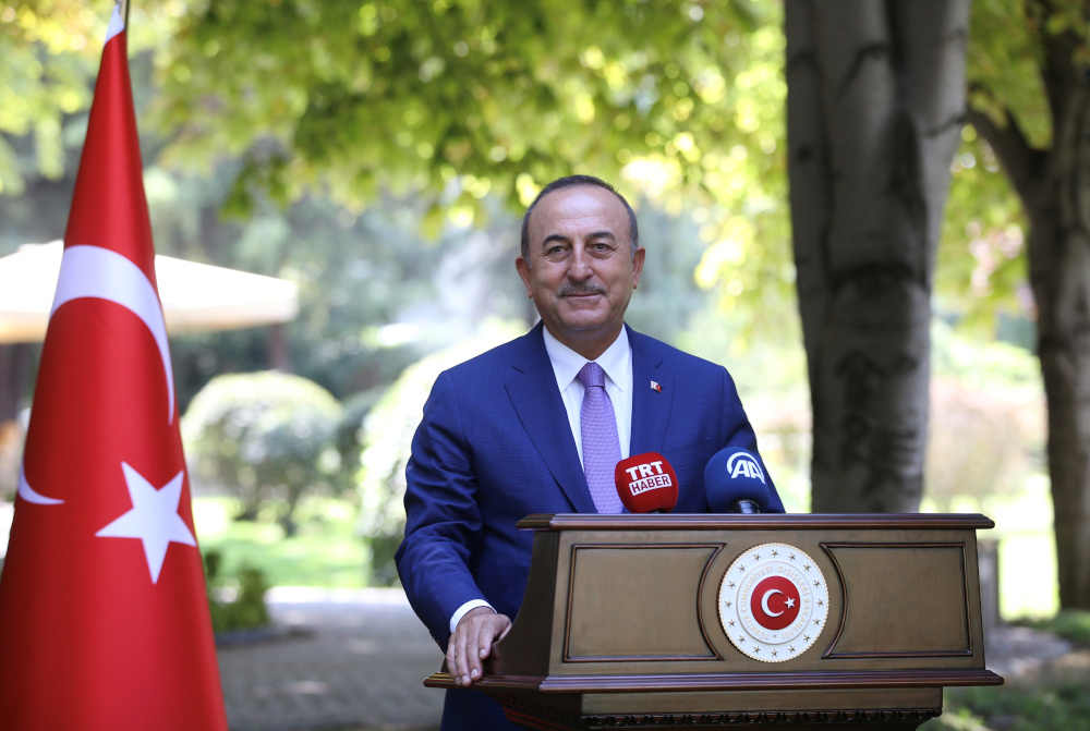 Turkish Foreign Minister Mevlut Cavusoglu took aim at Pelosi on Twitter today, firing off messages in both Turkish and in English. — Turkish Foreign Ministry handout pic via Reuters