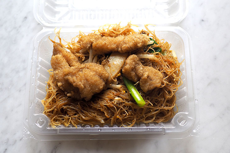 You can pack back the fried 'bee hoon' and it still tastes good when cold even though the fish meat is best eaten at the restaurant
