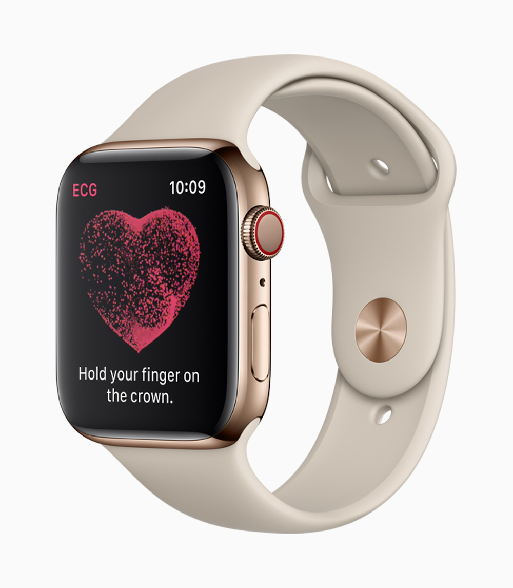 The latest software powering Apple Watch already indicates sleep tracking is coming, and the company may enhance features for fitness or health uses. — Picture courtesy of Apple via AFP-Relaxnews