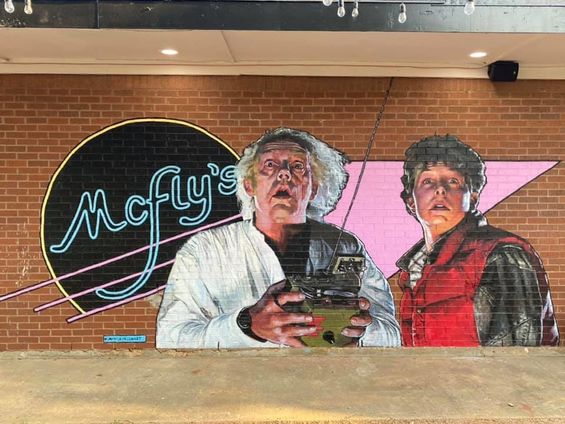 A new 'Back to the Future'-themed bar has opened in Texas. — Picture from Pub McFly via AFP-Relaxnews