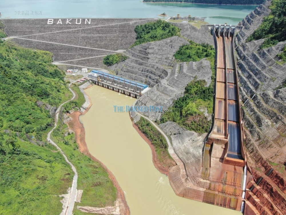 Sarawak Energy has clarified that there is currently no controlled release from the Bakun HEP. — Borneo Post pic