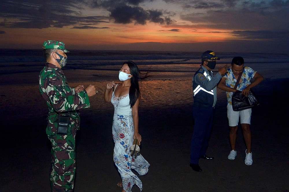 Tourism-reliant Bali is scheduled to reopen tomorrow. — Antara Foto via Reuters