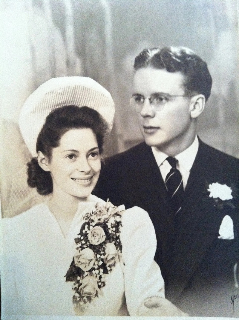 Gimby with his wife Grace. The couple and their daughter moved to Malaysia in late 1962. — Picture from Bobby Gimby Official Website
