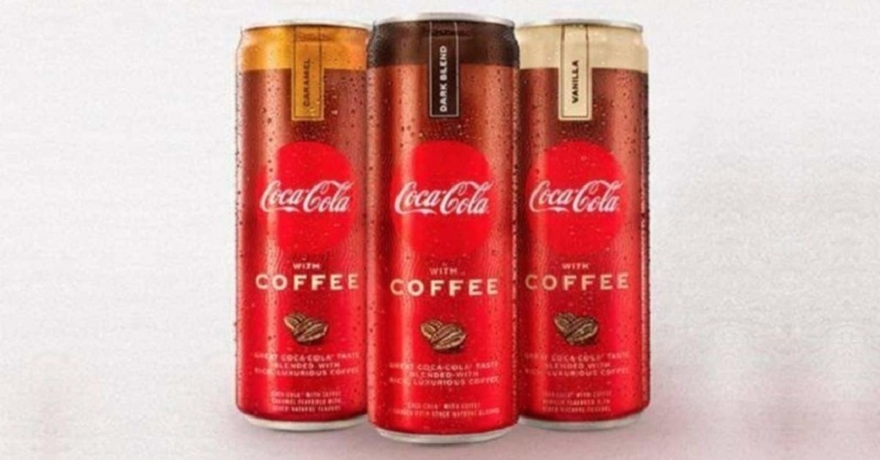 Coca-Cola is launching a beverage with cola and coffee in January. ― Picture courtesy of Coca-Cola Company via AFP