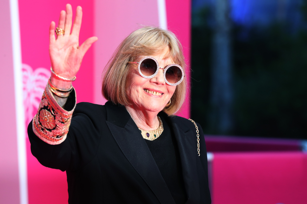 In this file photo taken April 5, 2019 British actress Diana Rigg poses upon arrival for the opening ceremony of the 2nd edition of the Cannes International Series Festival (Canneseries) at the Palais des Festival in Cannes, southern France. — AFP pic