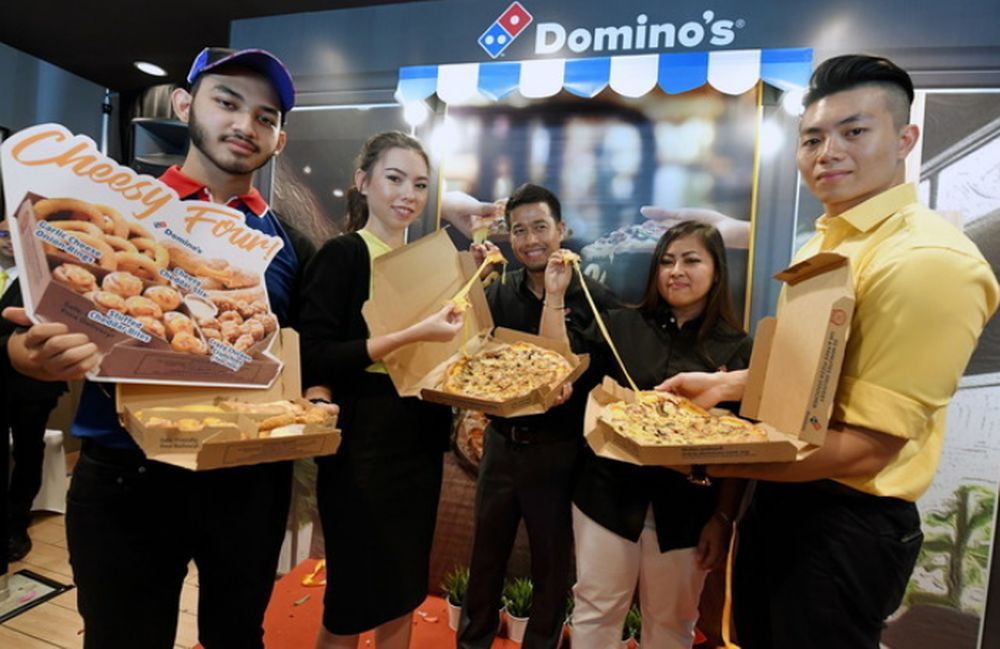 Domino's Pizza's will open a store at Labuan's international business and financial centre. — Bernama file pic