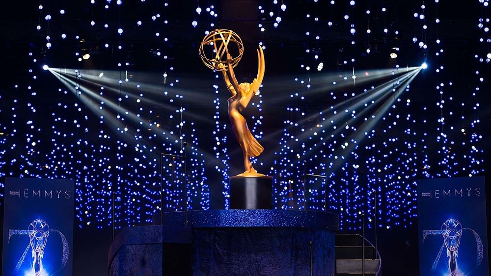 Hollywood will honour the best in television at the Emmys on Sunday, but the awards show — like most things in the pandemic-era world — will look totally different. — emmy awards pic via AFP