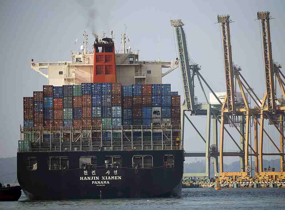 Singapore's August non-oil domestic exports rose 7.7 per cent from a year earlier. — Reuters pic