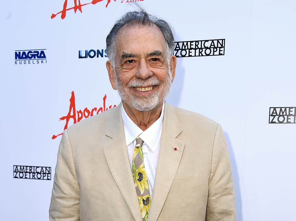 US film director Francis Ford Coppola — AFP pic