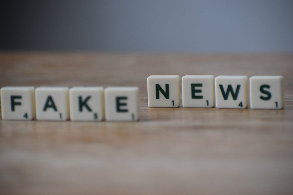 Fake news is defined as false news or content consisting of deliberate disinformation or hoaxes spread via traditional or online media. — Picture from Pexels.com