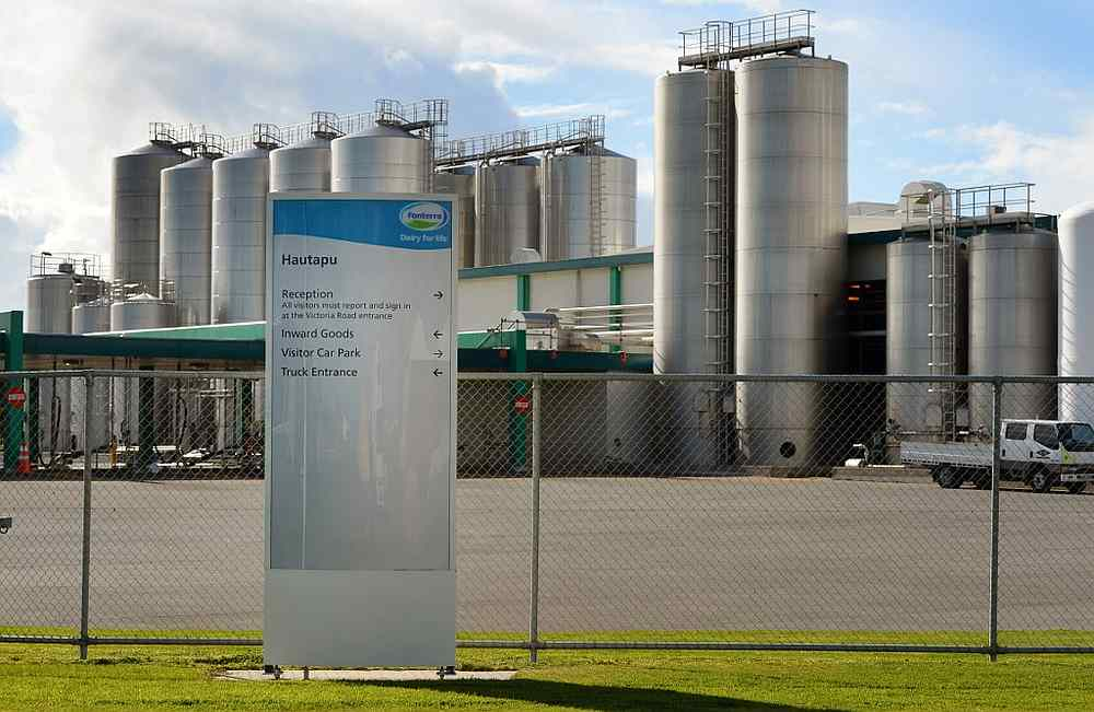 Fonterra's Hautapu dairy factory located near the rural town of Cambridge, some 150 km south of New Zealand's largest city, Auckland August 12, 2013. — AFP pic
