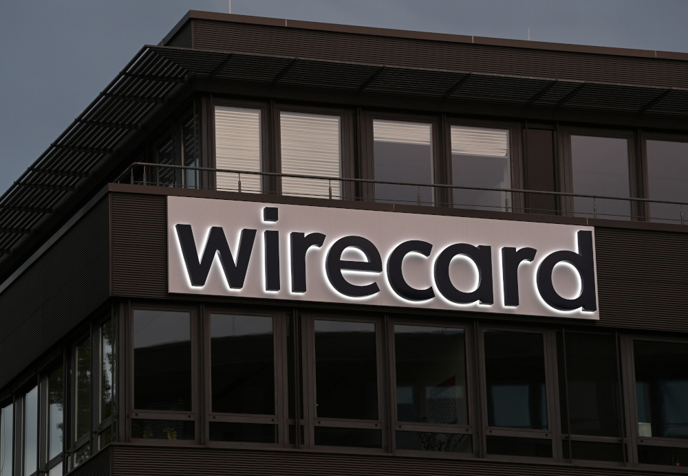 German regulators are examining EY's role as auditor for Wirecard, which collapsed in June after a €1.9 billion hole was discovered in its books. — AFP pic
