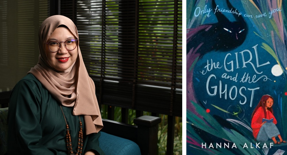 Hanna's second book 'The Girl and the Ghost' has important themes such as friendship, growing up and apart, and about the different ways people can be haunted. ― Pictures via hannalkaf.com