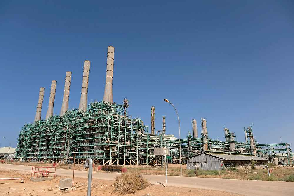 A view of the Ras Lanuf Oil and Gas Company in Ras Lanuf, Libya August 18, 2020 — Reuters pic