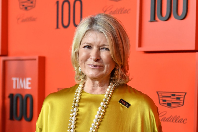 Martha Stewart has launched her own line of CBD products. ― AFP pic