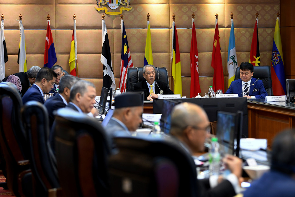 Yesterday, Muhyiddin had, in a special address, said that the authorities would be taking action against those who fail to comply with rules and standard operating procedures on Covid-19. ― Bernama pic