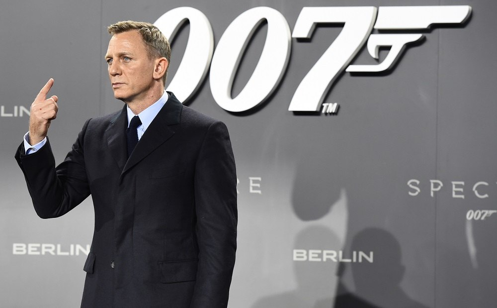 'No Time to Die' marks actor Daniel Craig's last outing as agent 007. — AFP pic