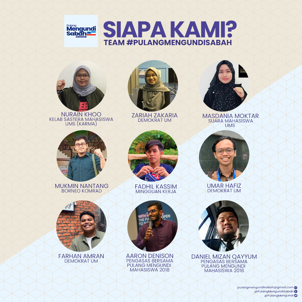 The nine youths are pooling resources, expertise, experience and networks in a non-profit effort to fly back Sabahans who are unable to foot the bill for air tickets.