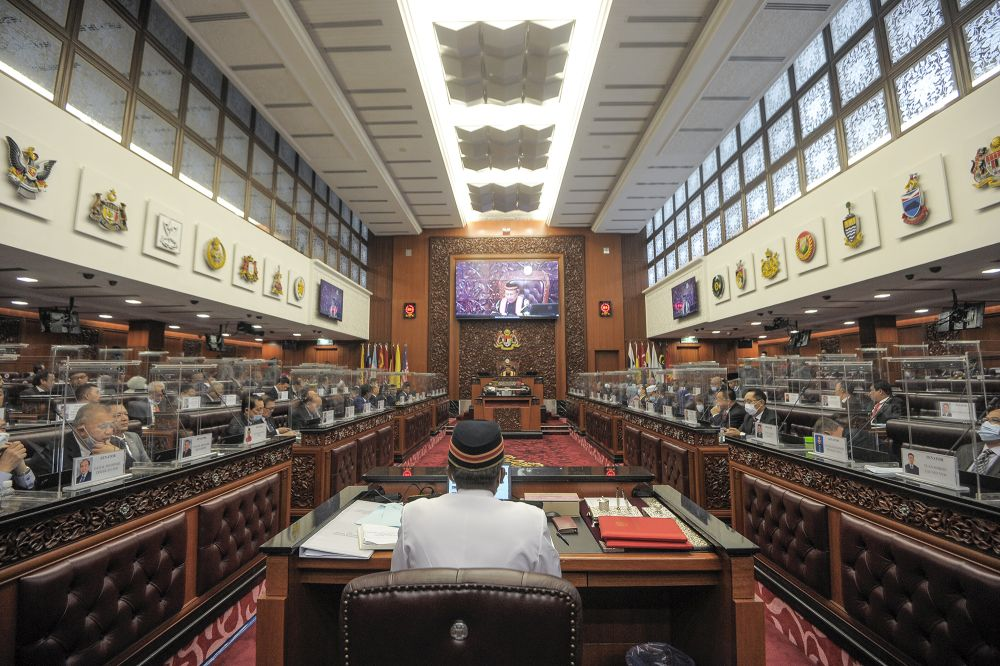 On October 16, Parliament issued a notice announcing that only 15 selected media outlets would be granted access to Parliament to cover the upcoming Dewan Rakyat meeting from November 2 to December 23. ― Picture by Shafwan Zaidon