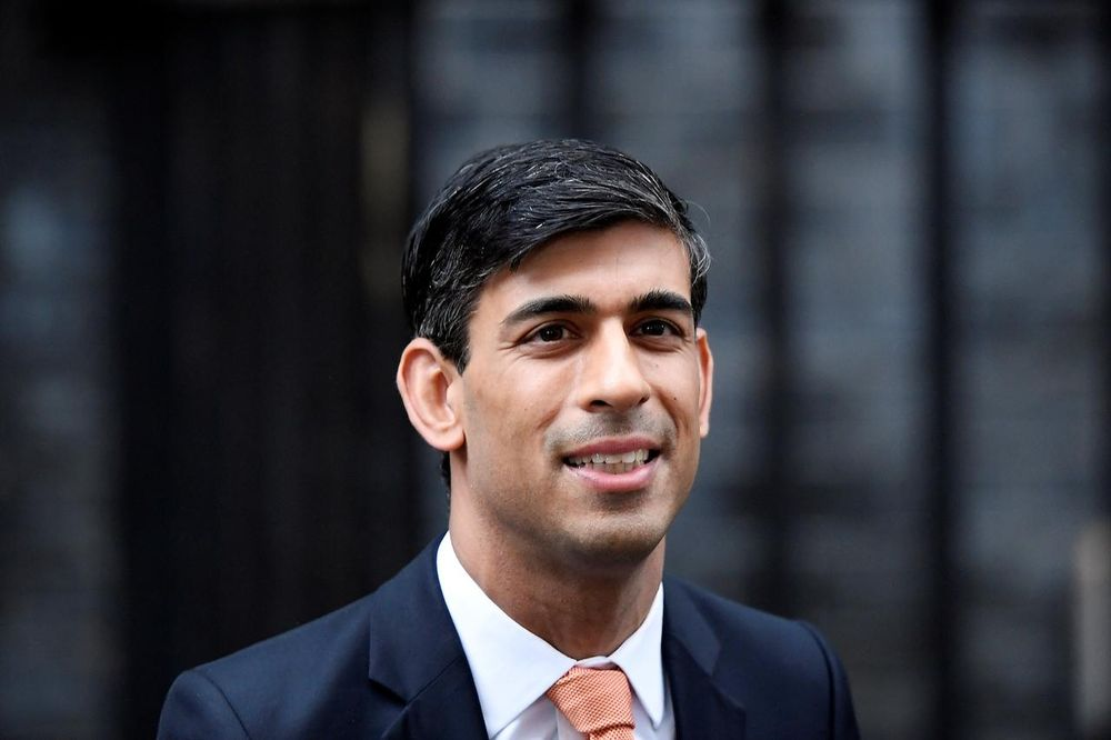 According to a report, British finance minister Rishi Sunak is preparing to extend the stamp duty holiday by three months until the end of June in an attempt to boost activity in the housing market. — Reuters pic