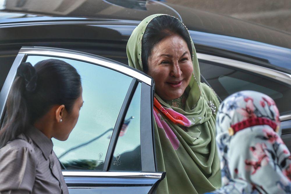 Datin Seri Rosmah Mansor arrives at the Kuala Lumpur High Court September 9, 2020. — Picture by Ahmad Zamzahuri