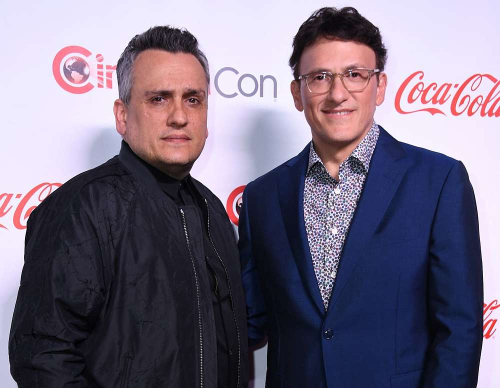 Movie directors Anthony Russo (right) and Joe Russo. — AFP pic