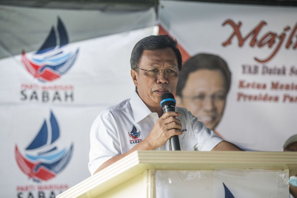 If all the Warisan Plus assemblymen signed SDs in support of Datuk Seri Mohd Shafie Apdal as chief minister, it would still put them nine people behind GRS's 41 assemblymen, assuming the latter was completely intact. — Picture by Firdaus Latif
