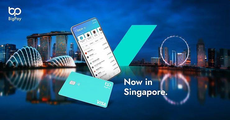 BigPay has also just announced its availability in Singapore.  - Photo via SoyaCincau