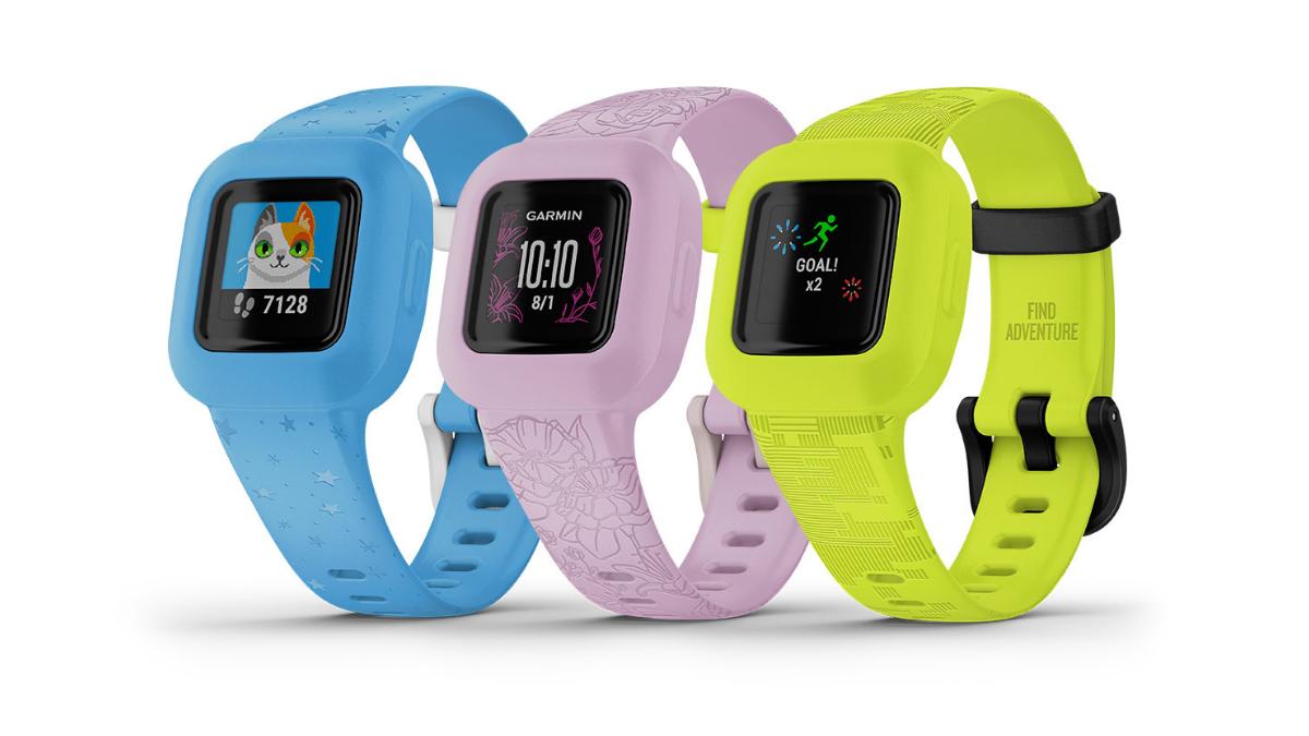 佳明推出专为儿童设计的智能手表。-图摘自Soya Cincau-