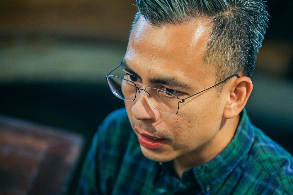 Fahmi said the days of political vendettas and point-scoring politics need to be over. — Picture by Hari Anggara