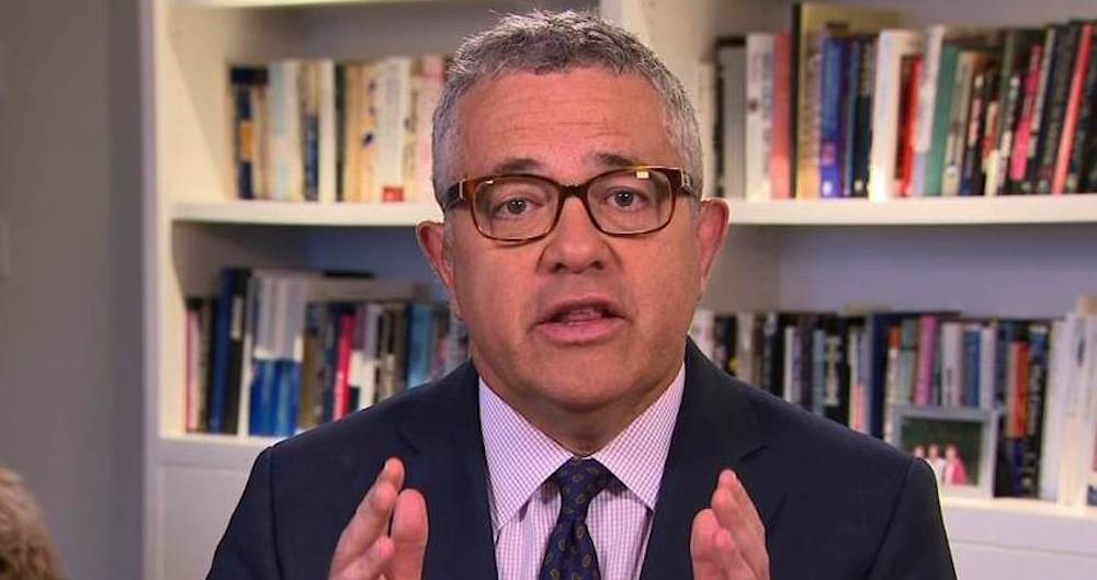 Toobin called the incident an 'embarrassingly stupid mistake' and directed his apology to his wife, family, friends, and colleagues. — Picture from Twitter/JeffreyToobin