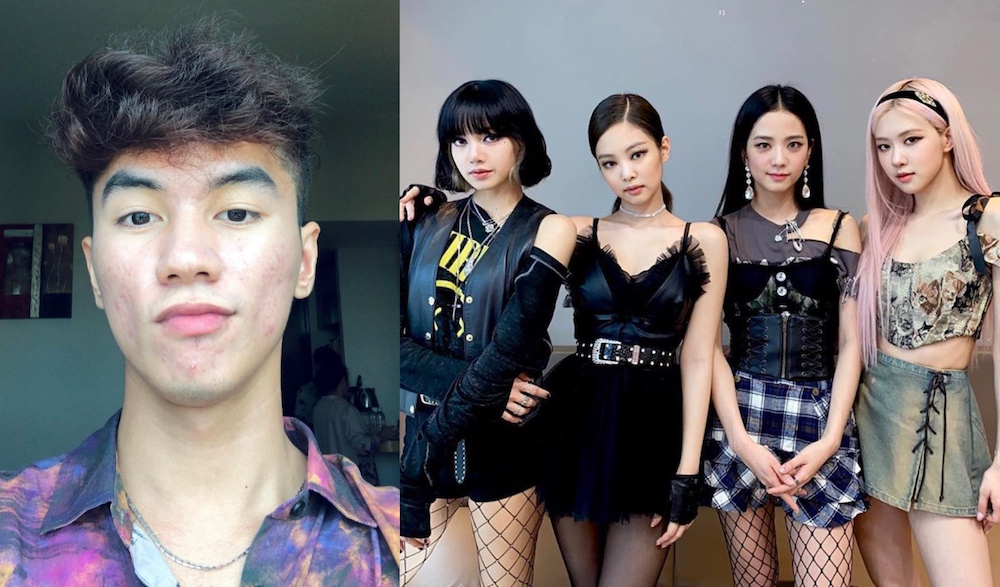 Razman said he became a fan of the K-pop girl group after watching a documentary that chronicled the members' meteoric rise to fame. — Pictures from Instagram/razmansyah and Instagram/blackpinkofficial