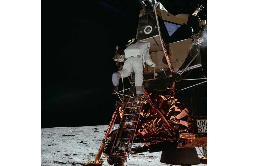 Restored footage of the Apollo 11 mission can be seen on Dutchsteammachine's YouTube channel. — Picture courtesy of Nasa