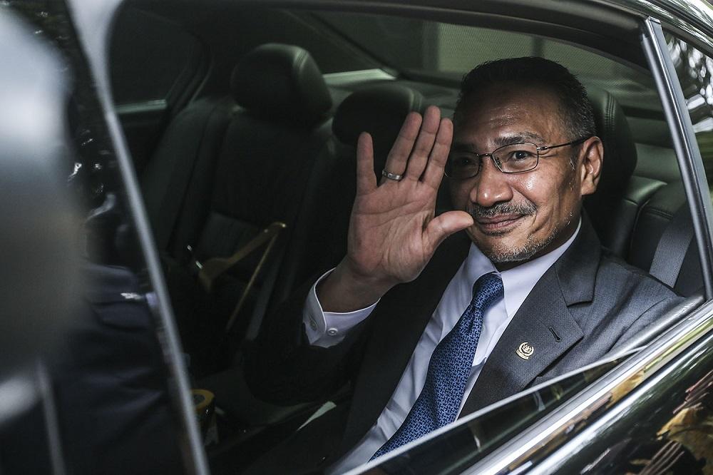 希山慕丁否认自己欲争取担任副首相的消息。-Hari Anggara摄-