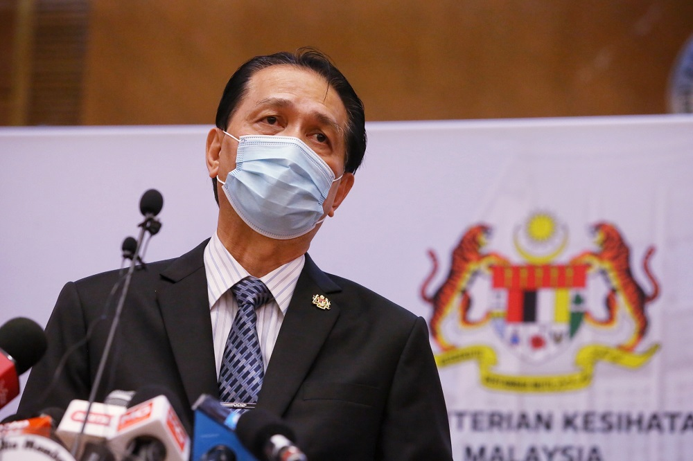 Health D-G Tan Sri Dr Noor Hisham Abdullah said the case is the 28th since rabies outbreak was declared in Sarawak on July 31, 2017. — Picture by Choo Choy May