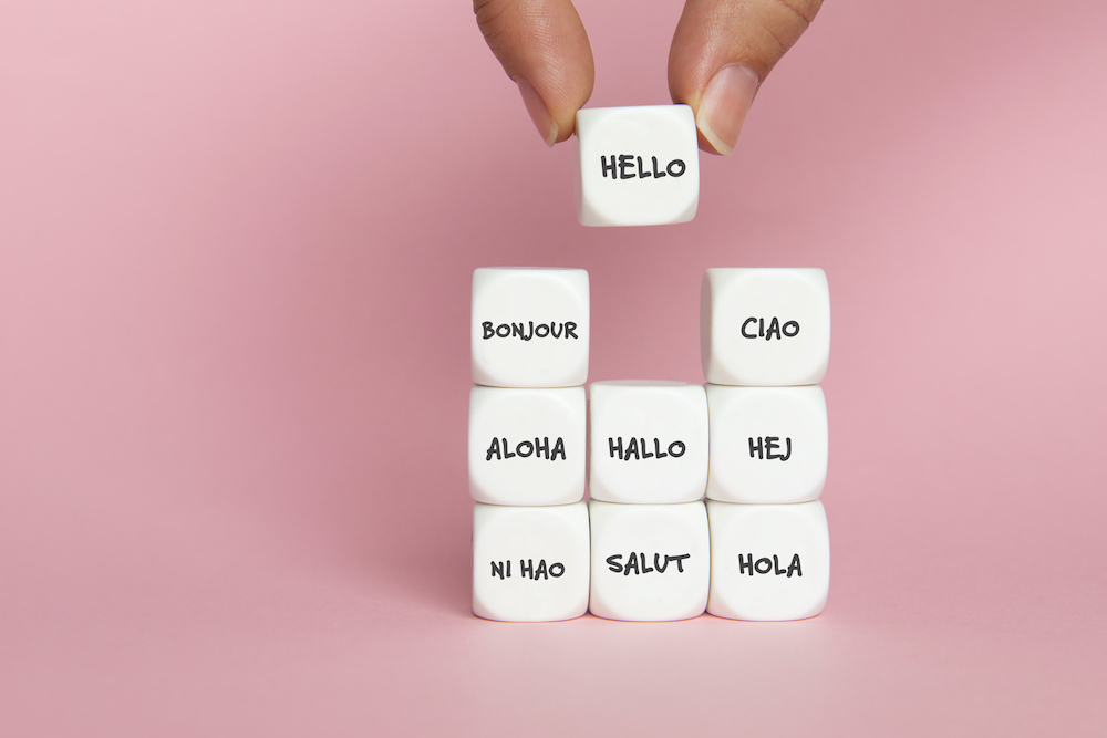 Thanks to AI technology, as well as translating text or speech, one same voice can speak in several languages.— Picture courtesy of solidcolours / IStock.com