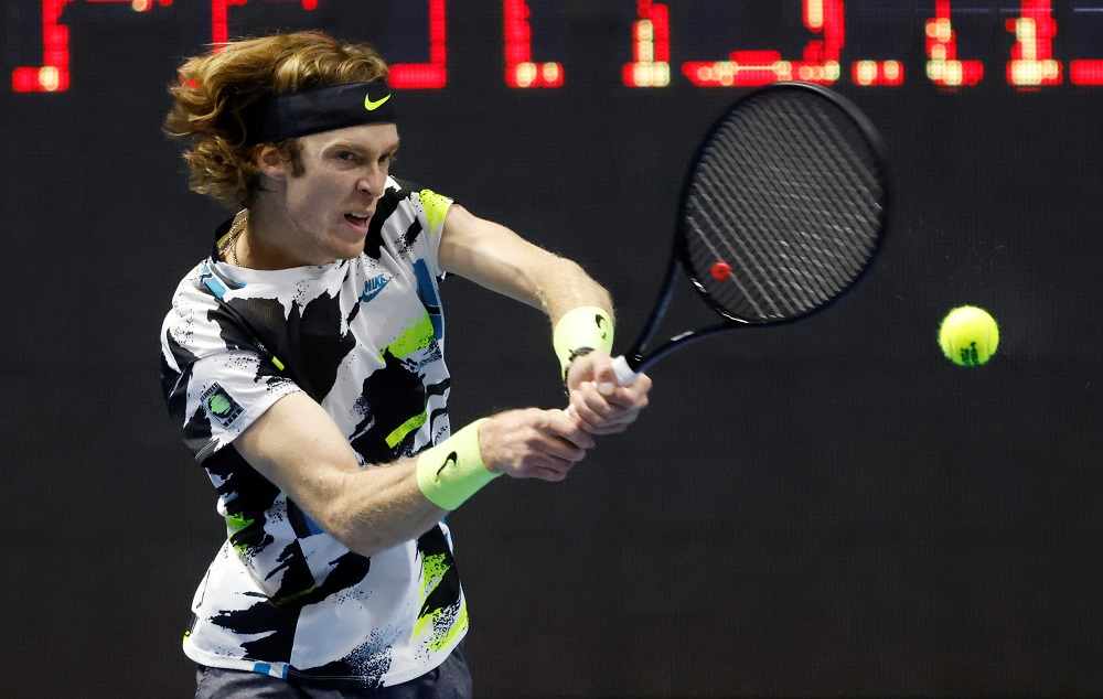 Andrey Rublev sets up final with Borna Coric at St Petersburg Open