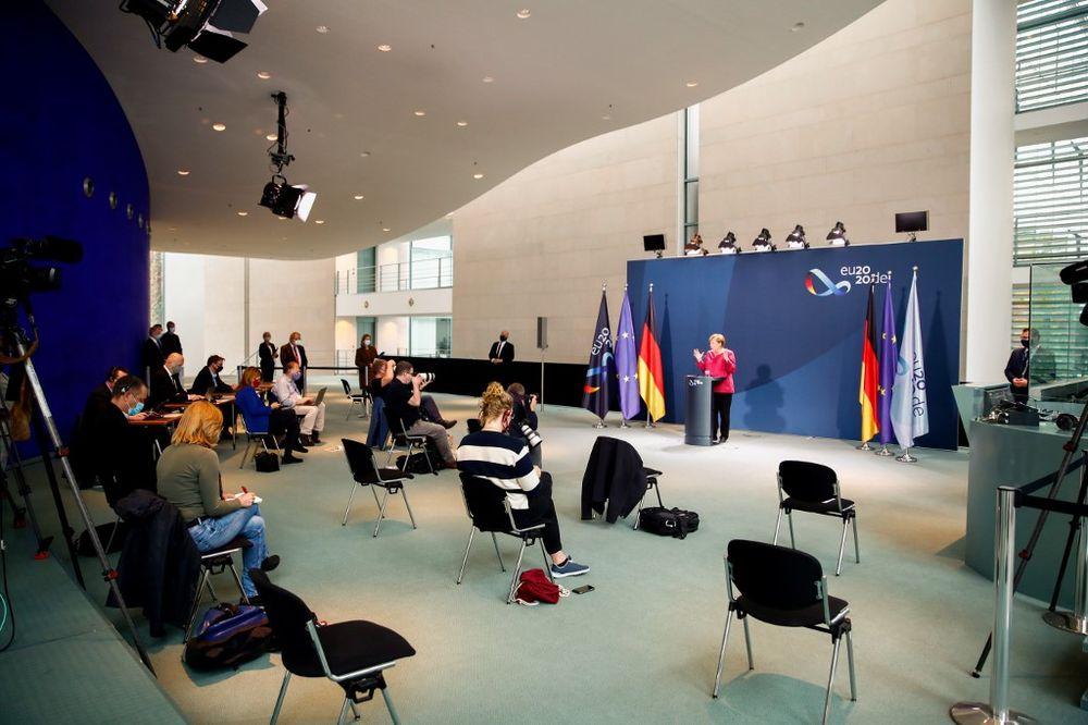 Merkel Discusses Coronavirus Surge in Cities | coronavirus