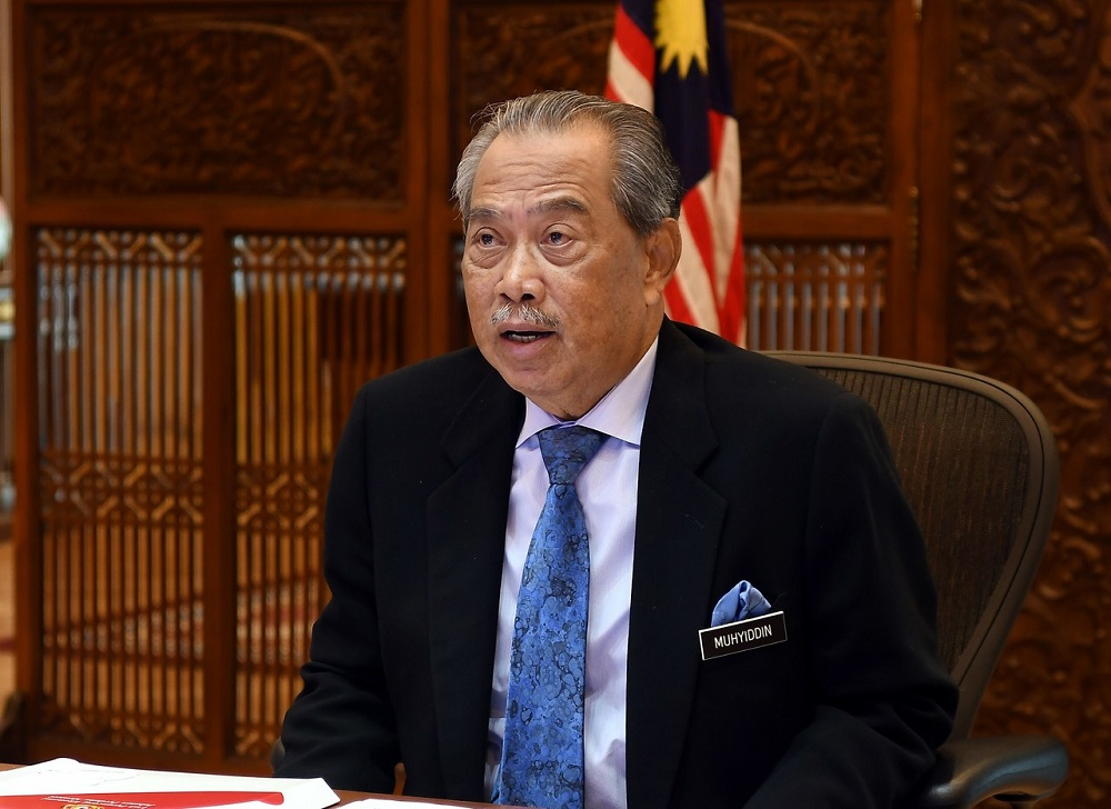 Sources told Malay Mail that Prime Minister Tan Sri Muhyiddin Yassin had rushed out of Putrajaya to Kuantan after chairing this morning's special Cabinet meeting. — Bernama pic