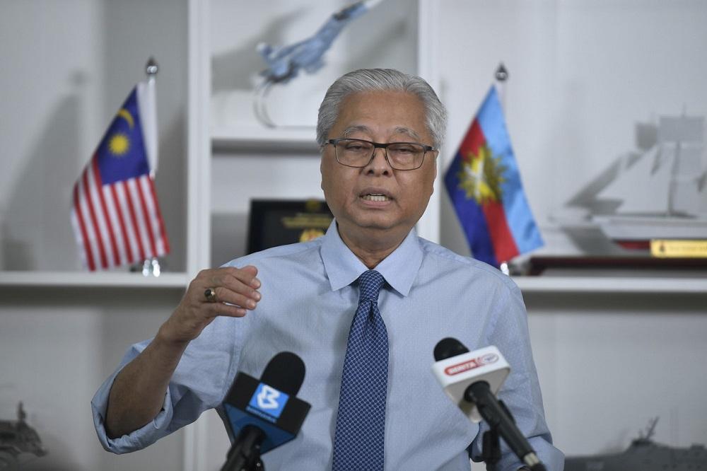 Senior Minister Datuk Seri Ismail Sabri Yaakob at a press conference in Putrajaya October 26, 2020. — Bernama pic