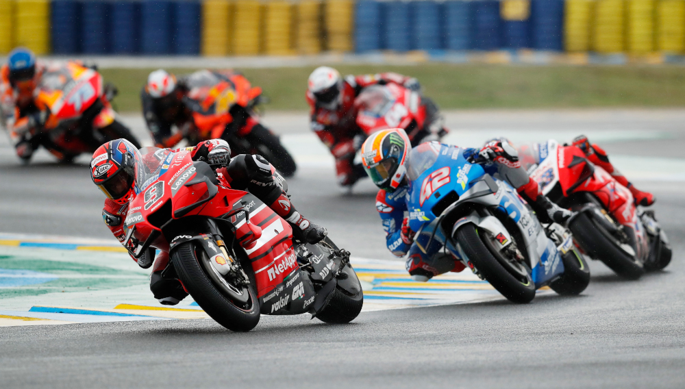 The first MotoGP race in Portugal since 2012, due to take place at the Algarve International Circuit, will be held behind closed doors. — Reuters pic