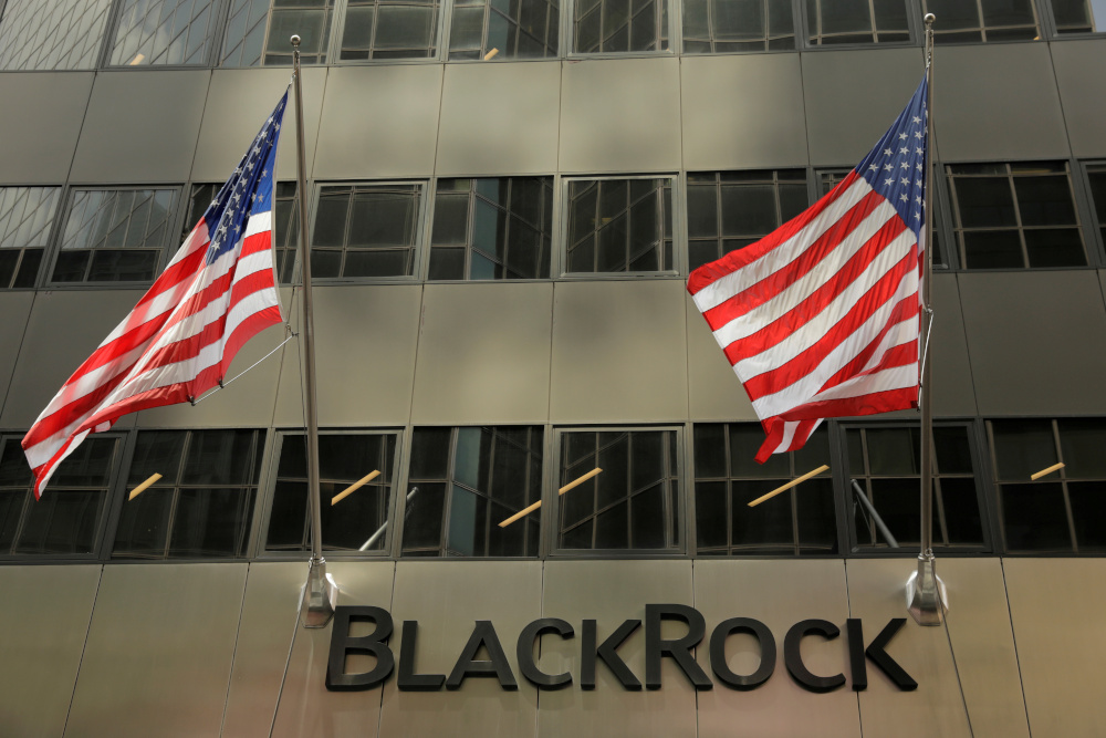 Soros said BlackRock has drawn a distinction between the country's state-owned enterprises and privately owned companies that is far from reality, according to the opinion piece. — Reuters pic