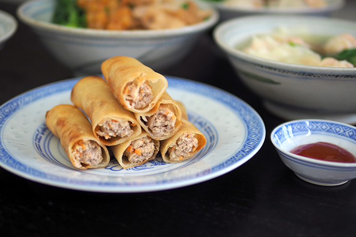 Their homemade pork spring rolls are addictive with a filling of minced meat and carrots.