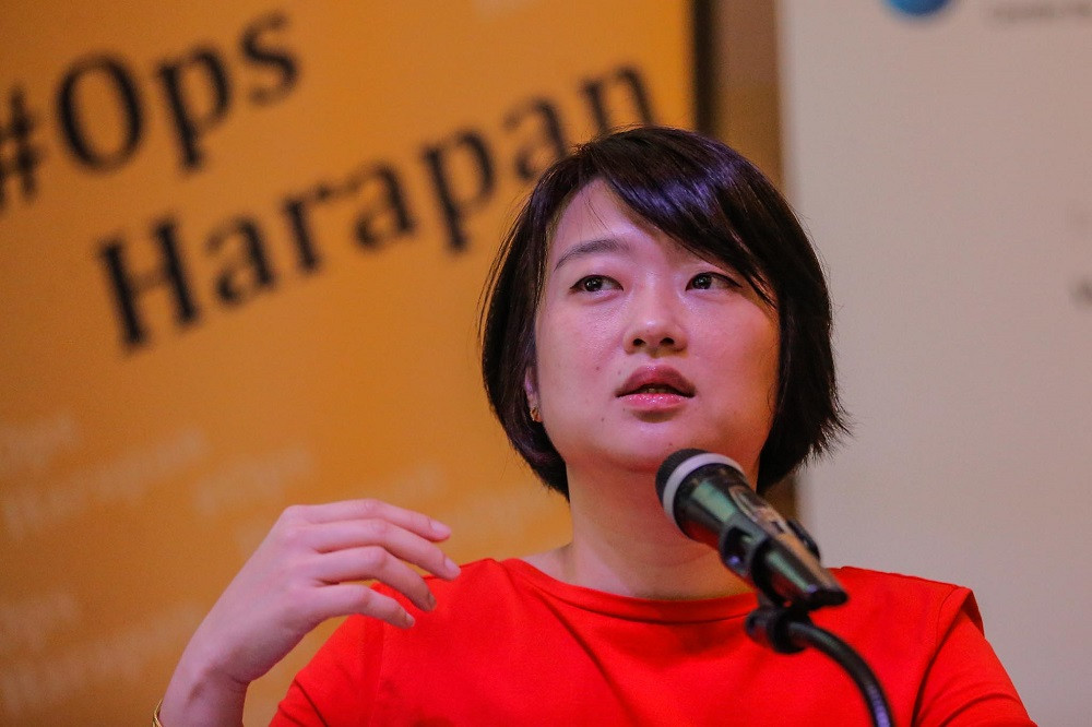 Malaysian aid organisation #OpsHarapan founder Ng Yeen Seen has been awarded the Silk Road Youth Outstanding Contribution Award. — Picture by Hari Anggara